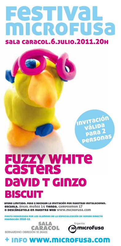 invitación festival Madrid