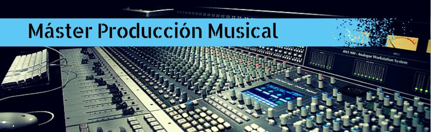 Añade Productor Musical a tu CV - Nuevo Máster en MicroFusa - Blog de Microfusa