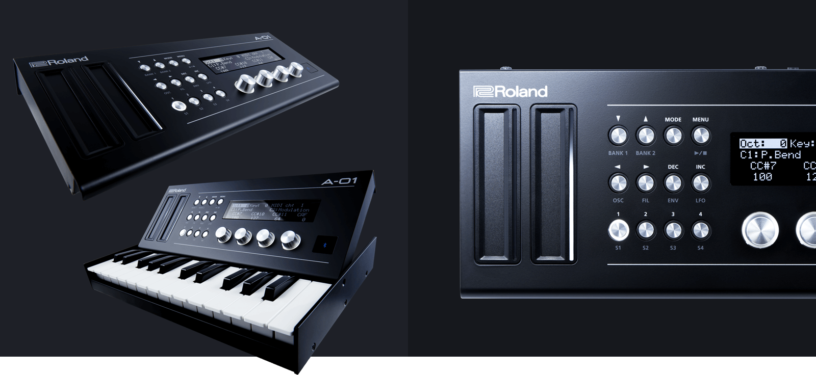 Roland A-01, controlador y motor de sonido de bolsillo (NAMM 2016) - Blog de Microfusa