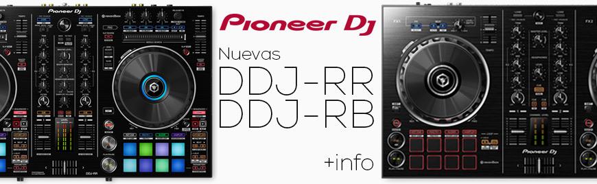 Pioneer amplía su gama de controladores para rekordbox DJ: DDJ-RB y DDJ-RR - Blog de Microfusa