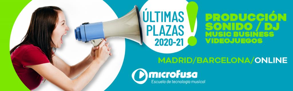 Últimas plazas 2020/21