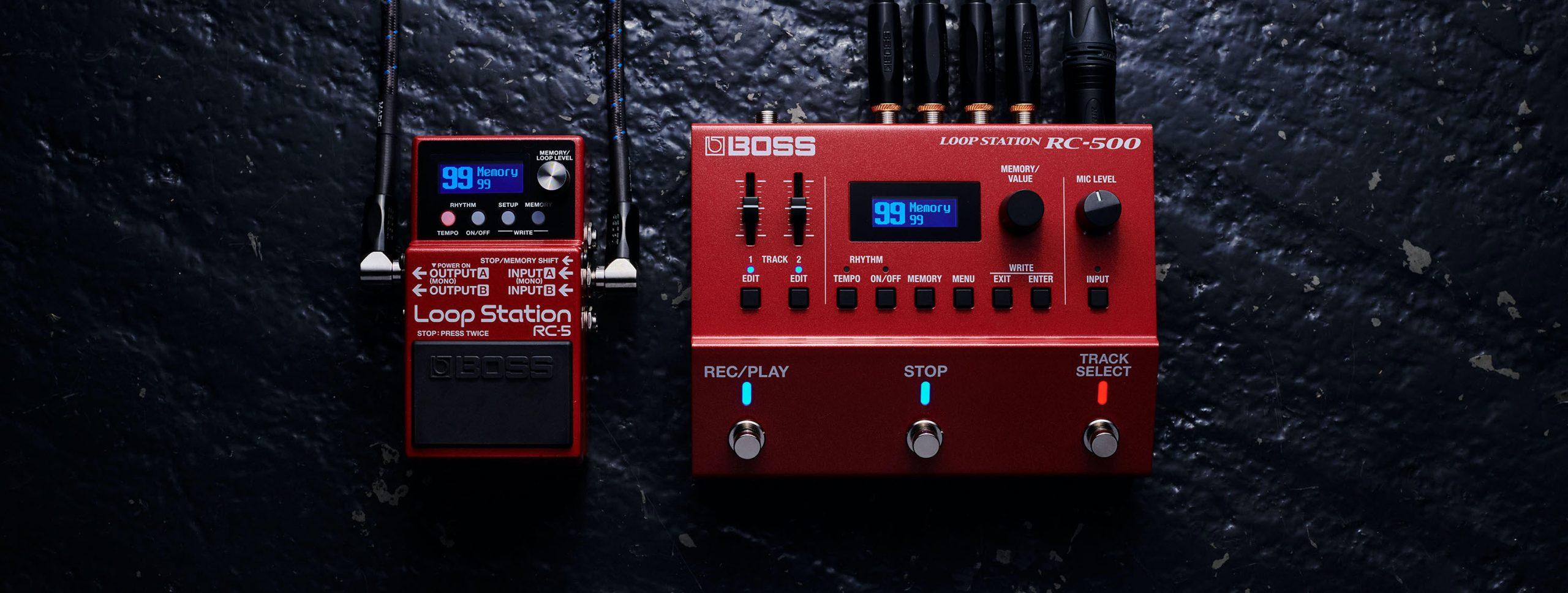 BOSS RC-5 y RC-500