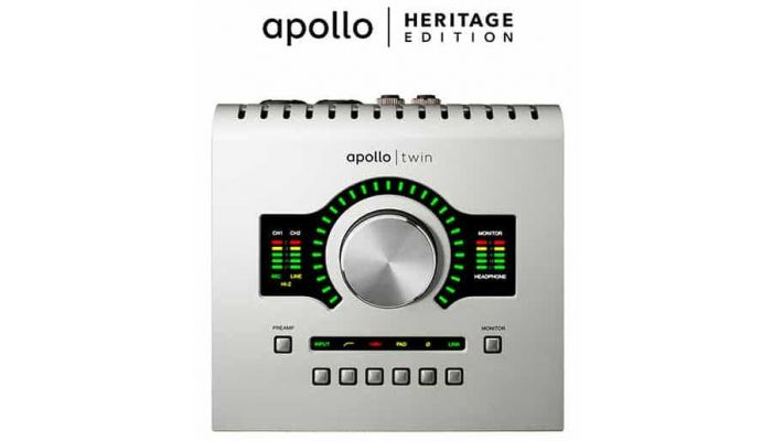 interfaz audio Apollo Heritage Edition