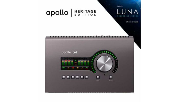universal audio Apollo Heritage Edition