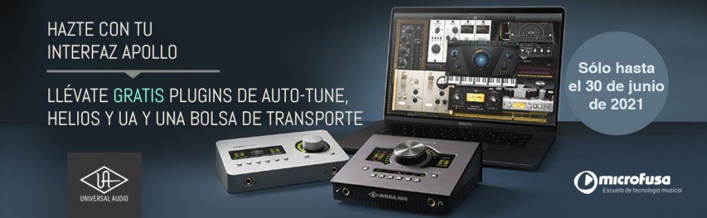 Promoción Desktop Vocal Platinum universal audio