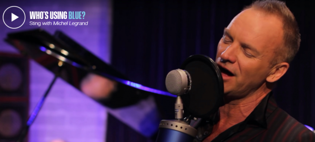 sting blue microphone