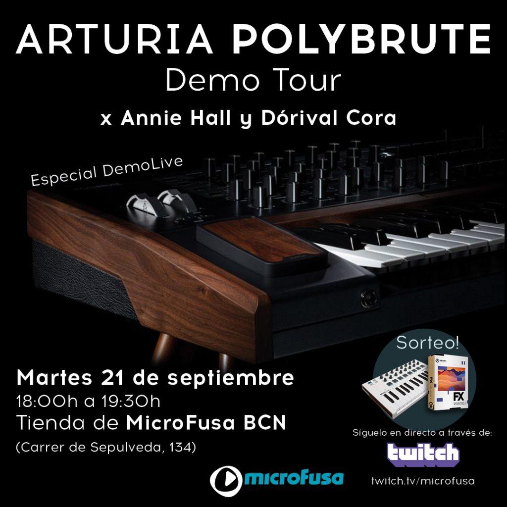 TOUR DE PRESENTACIÓN DEL ARTURIA POLYBRUTE